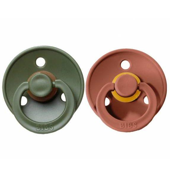 Chupetes BIBS Colours Woodchuck/Hunter